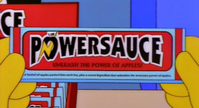 Powersauce - Los Simpsons