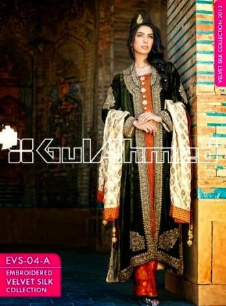Gul Ahmed Nawabi Embroidered Dresses