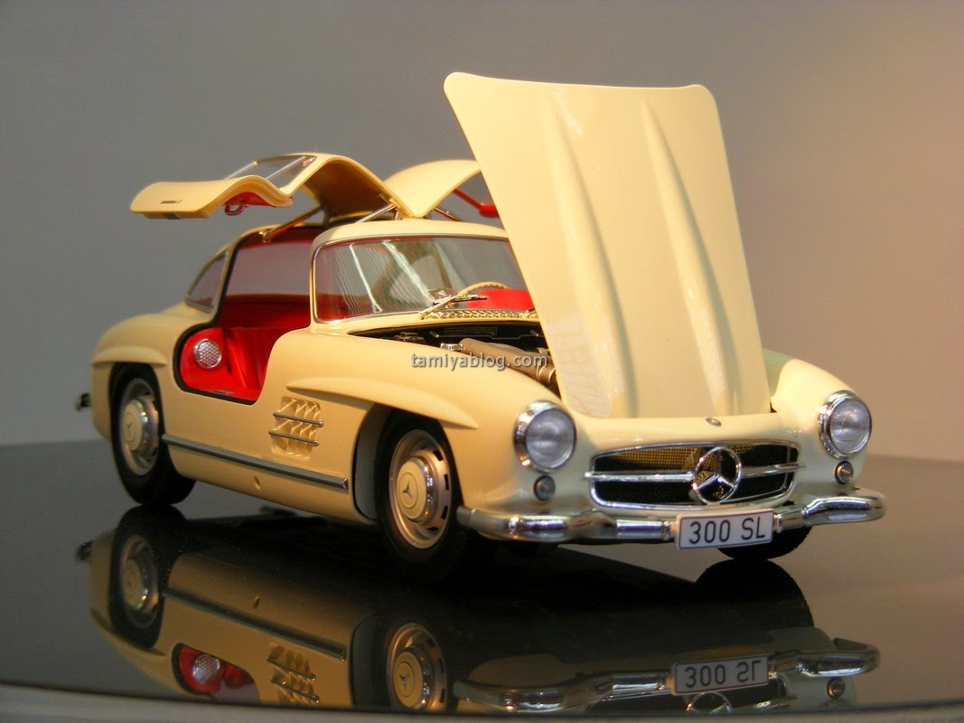 peace love and model cars tamiya mercedes 300sl 1 24. Black Bedroom Furniture Sets. Home Design Ideas