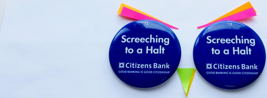 2010 Penn State vs Northwestern Pin Citizens Bank Joe Paterno 400 Win PSU