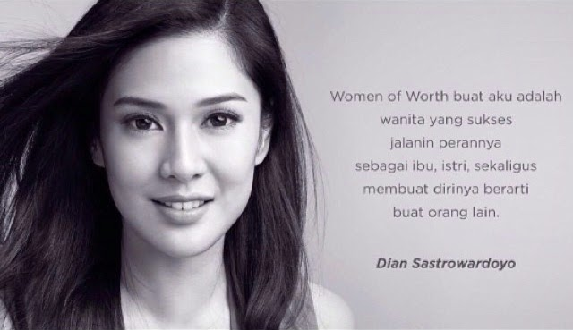 women of worth Dian Sastro