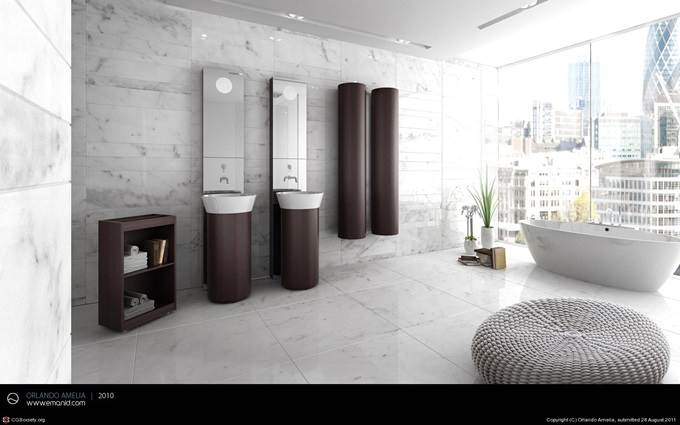 AC London/NY Bathroom by Orlando Amelia