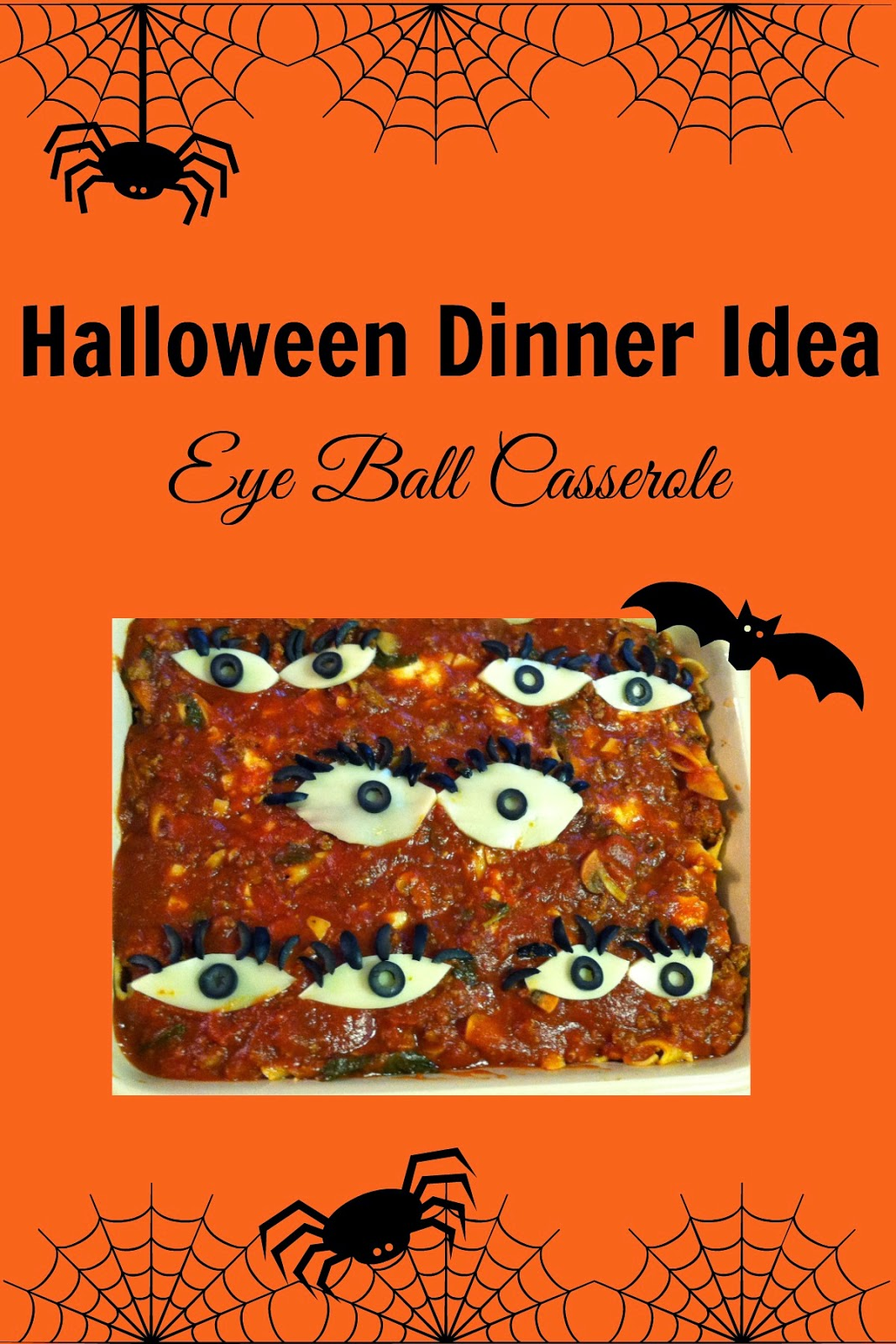 when my kids were little they didnt remember eating the casserole the previous year so i could trick them into thinking we were eating real eyeballs for - Halloween Casserole Recipe Ideas