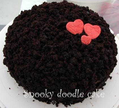Snooky Doodle Cakes Valentine Chocolate Cake