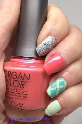 Ooh la la, nail polish, nail art, notd, nails, swatch