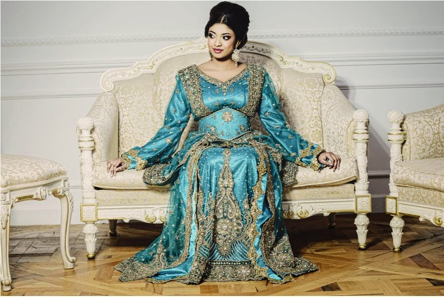 Le Caftan/Takchita Sari : Les tendances mariage 2013 selon Mon Beau Dressing