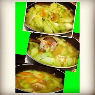 hot, pasta soup, pasta, vietnamese, chayote, carrot, vitamin