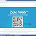 Cách Chat Zalo trên WEB bằng trình duyệt Chrome, Cốc Cốc, Fire Fox