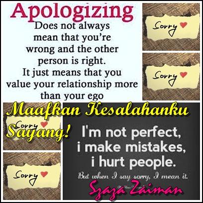 Maafkan  Kesalahanku Sayang!