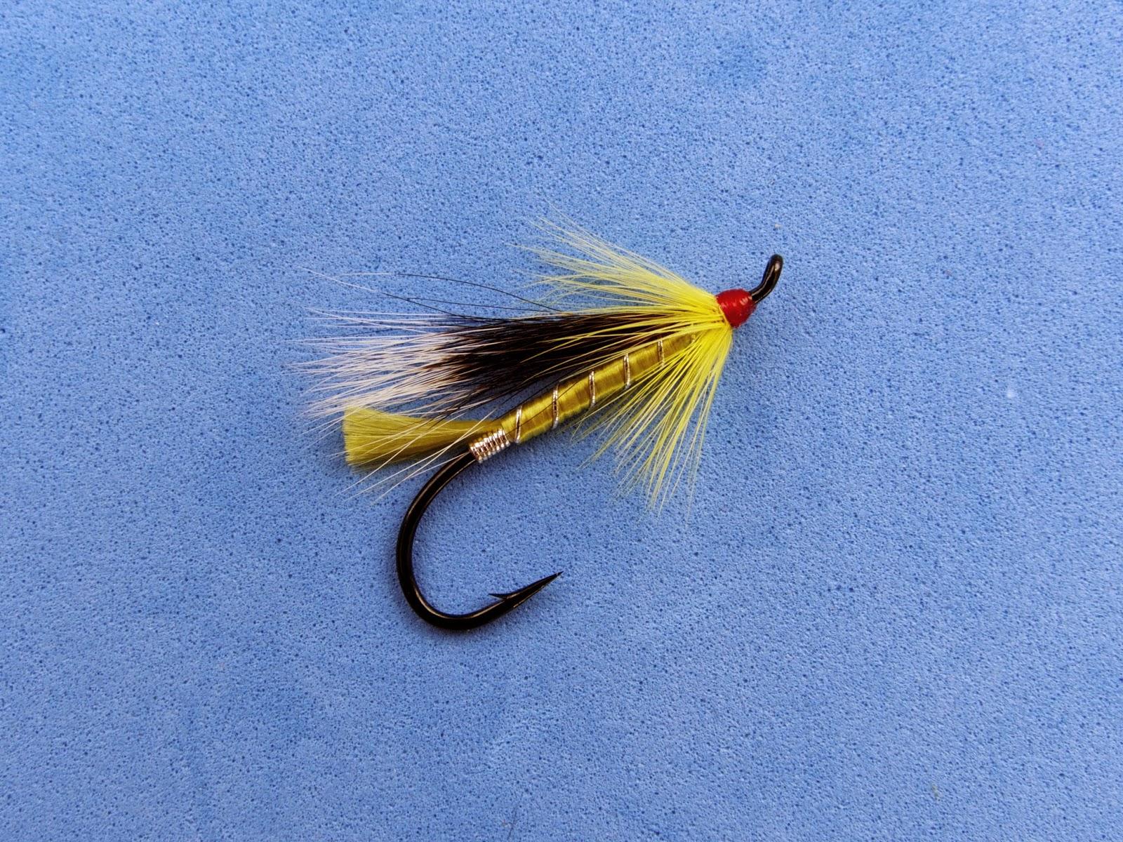 Atlantic salmon flies native new england salmon flies for Salon fly