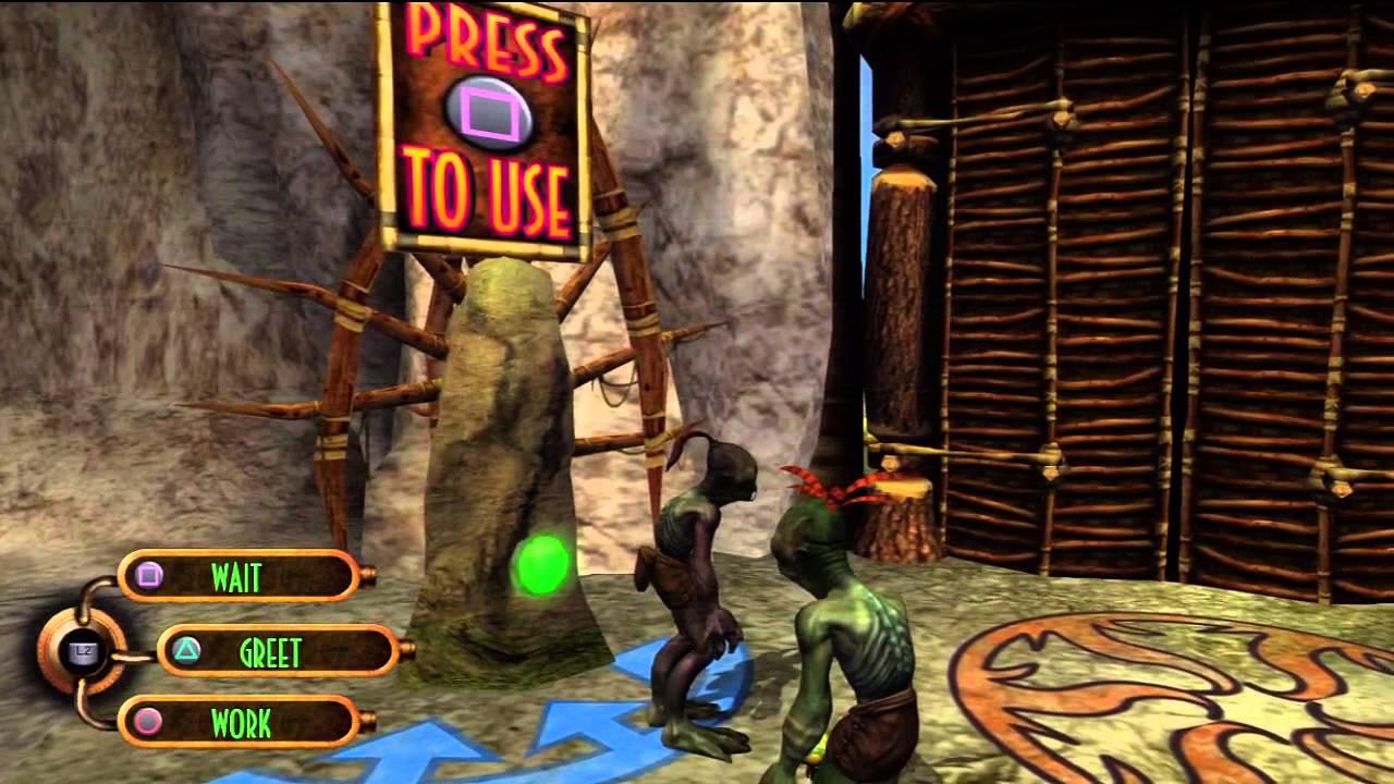 Oddworld: munchs oddysee image