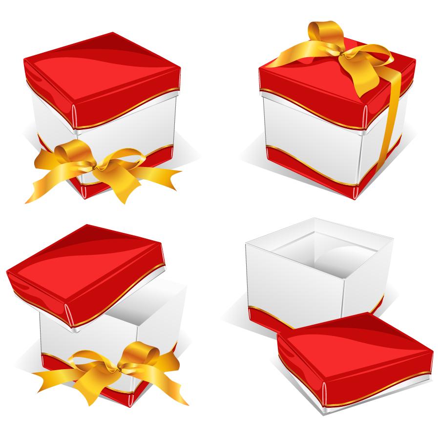 プレゼント箱とリボン Gift box ... : パソコン アルファベット : すべての講義