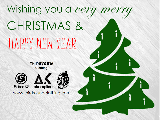 Thirdround Clothing - Merry Christmas & Happy New Year