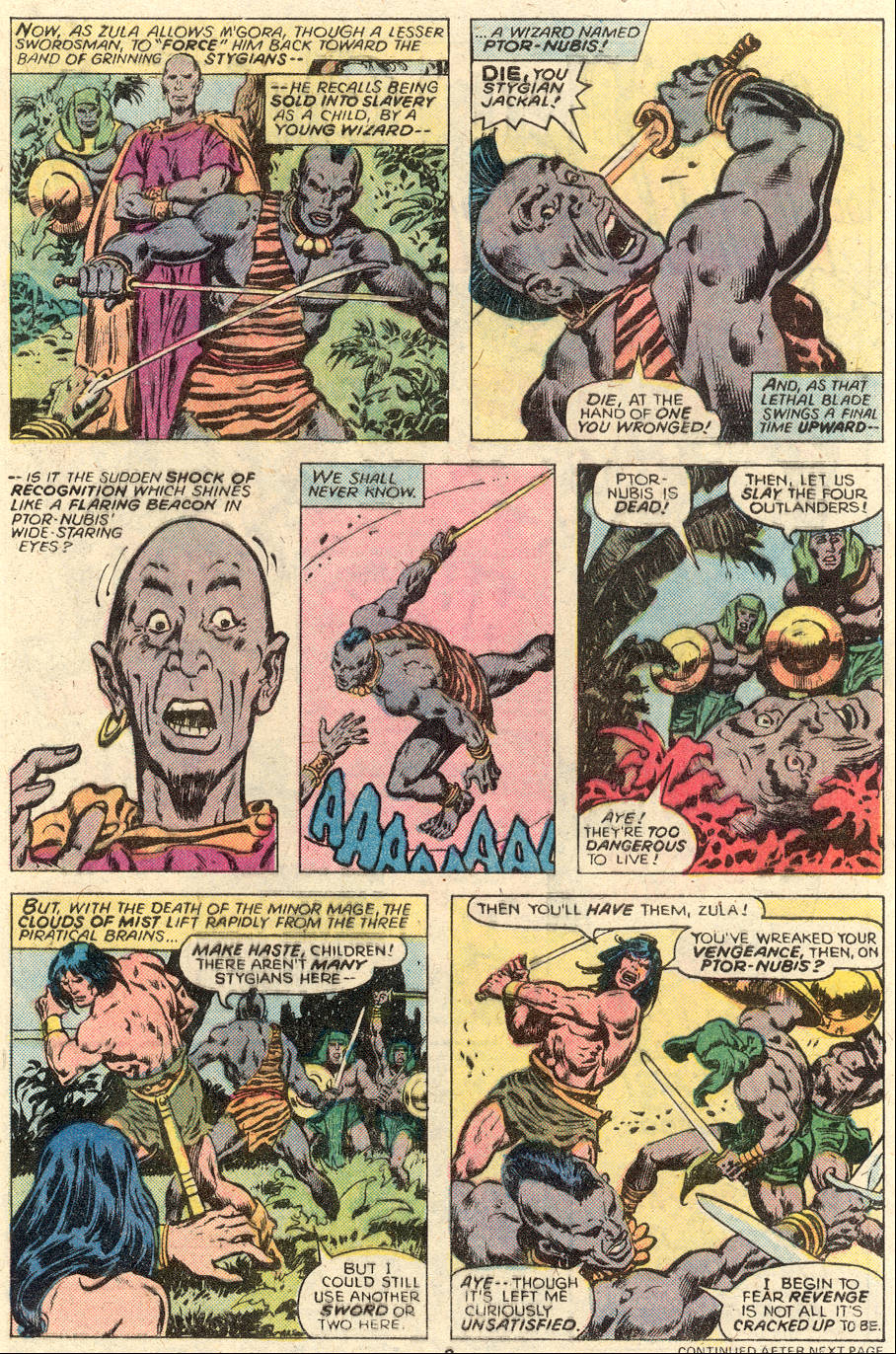Conan the Barbarian (1970) Issue #93 #105 - English 4