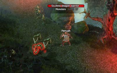 Soulless Dragon Warriors at Fortress Teganswall