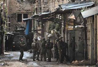 palestin di serang