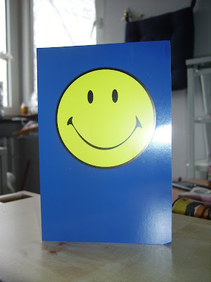 smiley postcard