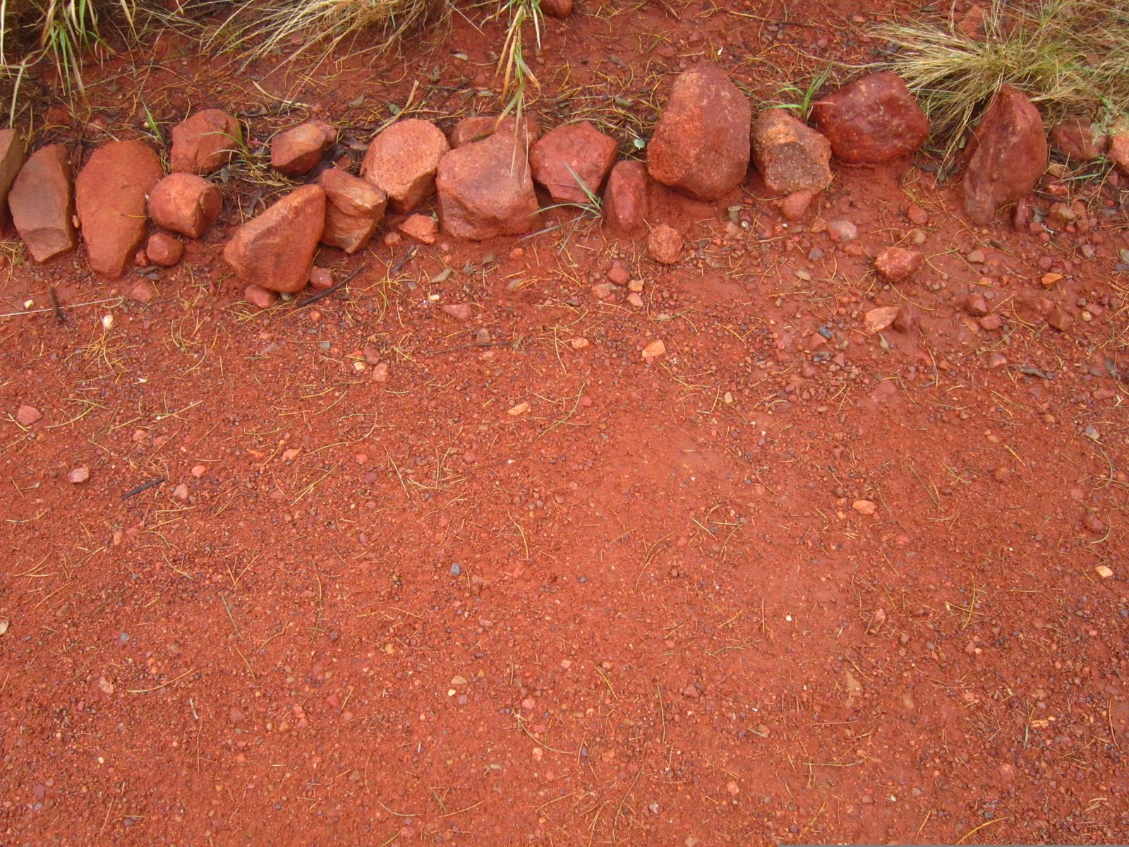 The Red Centre is the outback ? very outback really.