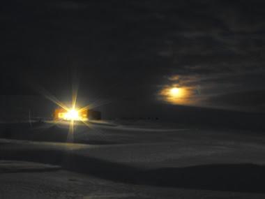 La noche antártica