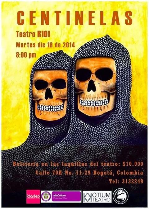 """""""Centinelas"""" Llega al Teatro R101"""