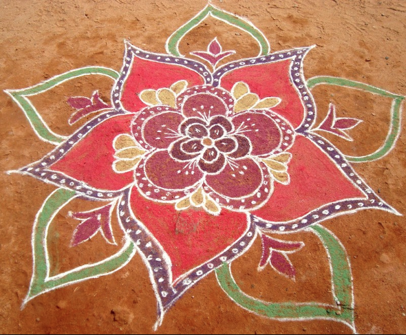 Kolam Design from India