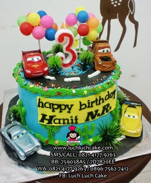 Kue Tart Cars Daerah Surabaya - Sidoarjo
