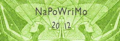 NaPoWriMo 2012