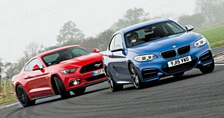 Bmw M235i Vs Ford Mustang Comparison Auto Bmw Review