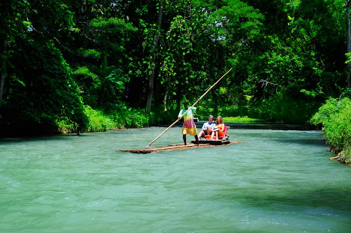 Awesome & Cozy Bamboo Rafting On The White River. It's Only 10mins Drive Away From Us
