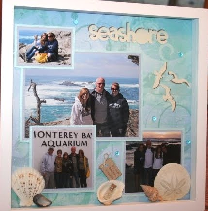 vacation shadow box