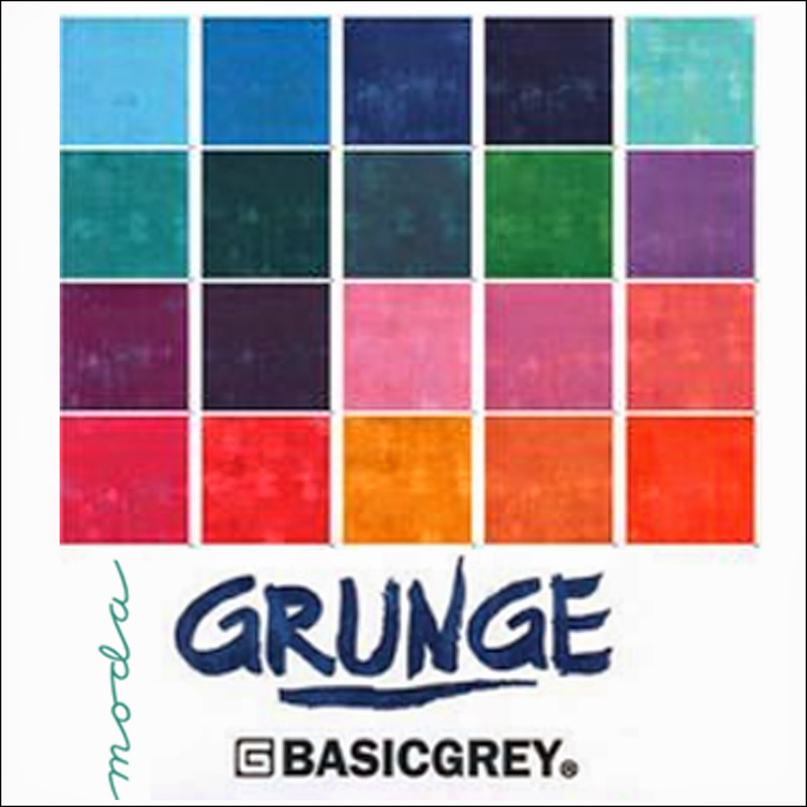 Moda GRUNGE BASICS Quilt Fabric by Basic Grey