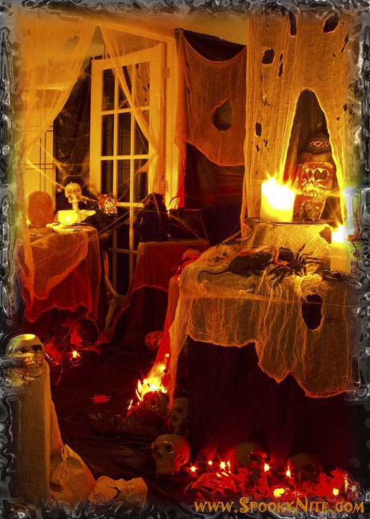 scary halloween decorating ideas interior home design