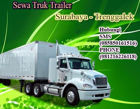 Rental-Sewa Truk Trailer Surabaya-Trenggalek