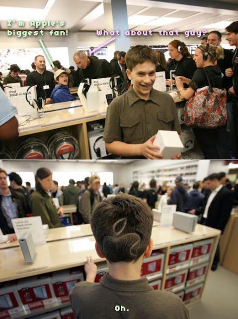 World's Biggest Apple Fan Meets Steve Jobs Seen On www.coolpicturegallery.us