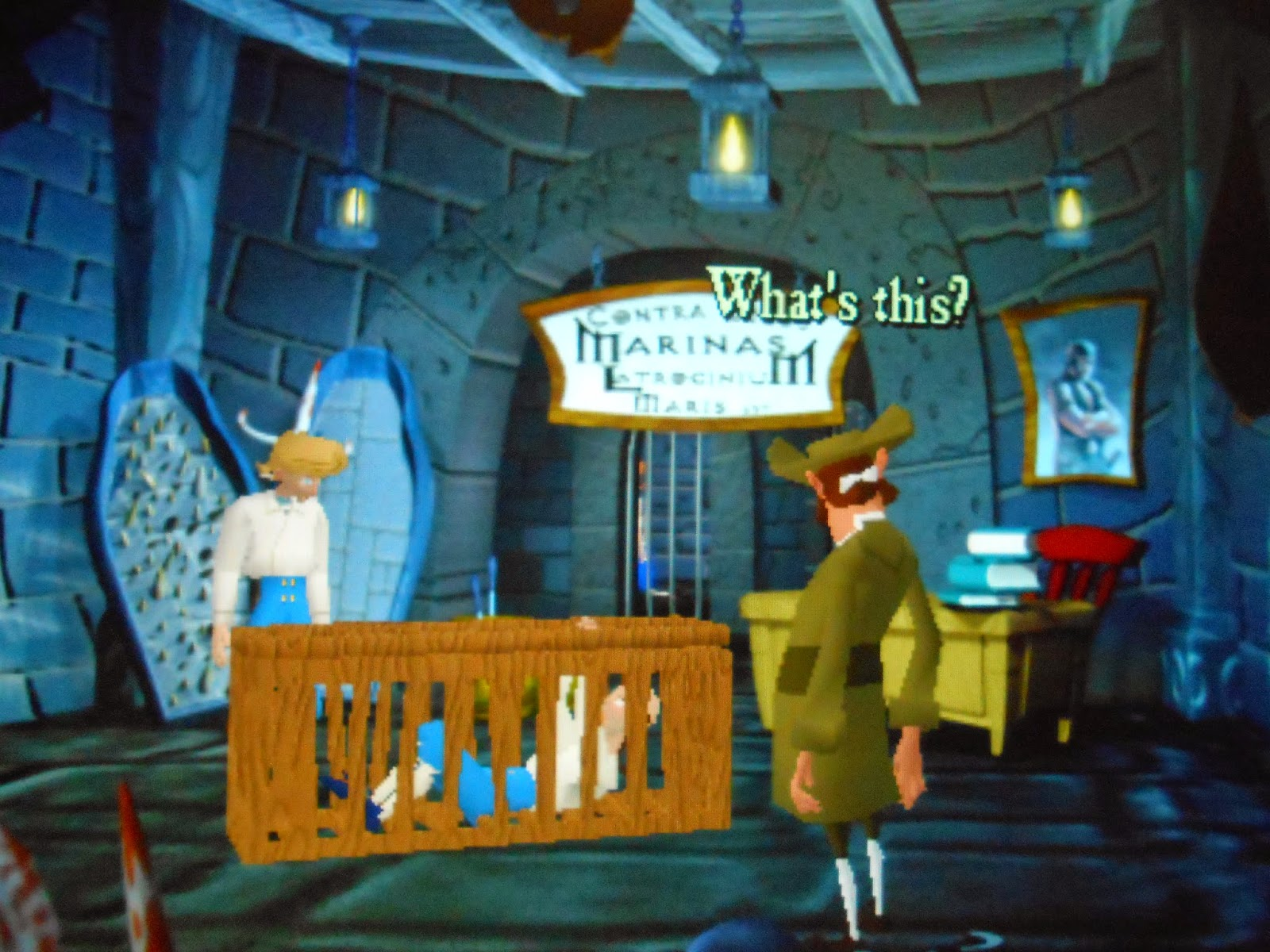 Computer Game Walkthroughs: Escape From Monkey Island - Part 1