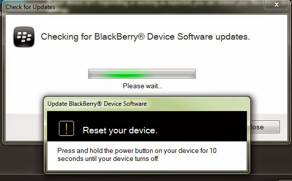 Reload BlackBerry 10