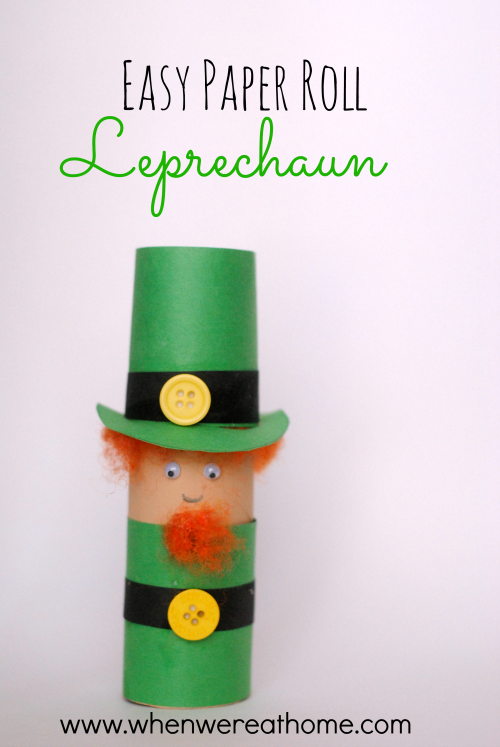 Easy St. Patrick's Day Craft