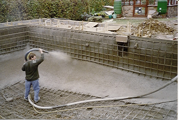 Pool trends for Concrete pool construction