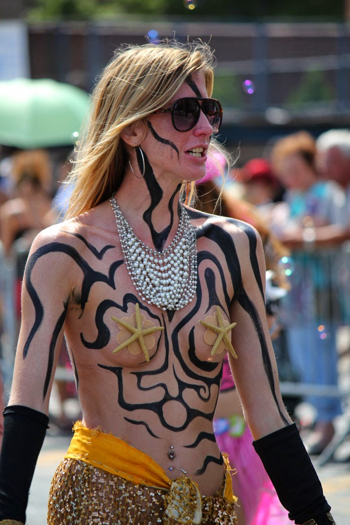 New York City body Art  Painting