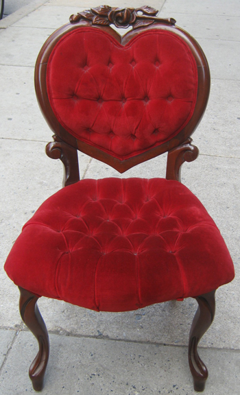 Genial Heart Shaped Victorian Chair SOLD