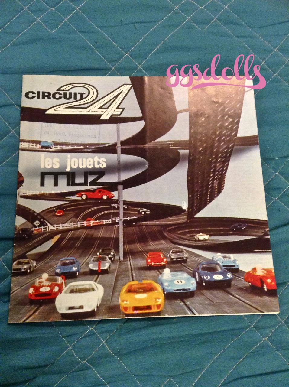 Vintage 1970 CIRCUIT 24 IDE FRANCE LES JOUETS MUZ CATALOG!