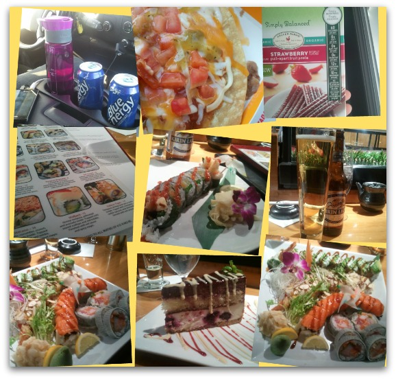 what i ate wednesday 1 year anniversary murad north hills sushi