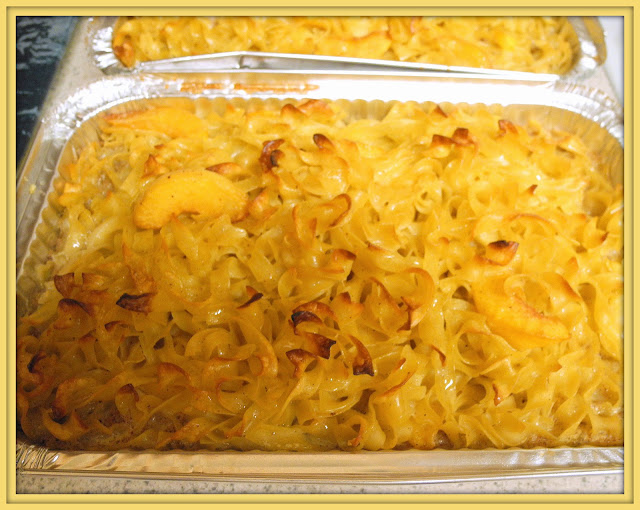 Peach Noodle Kugel Recipes — Dishmaps