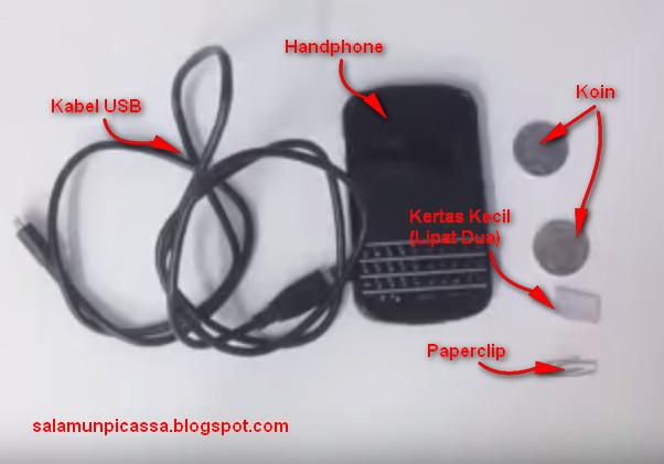 Cara Mengisi Baterai Handphone dengan Listrik dalam Tubuh