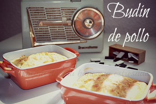 Anímate a preparar un budin de pollo. Cuando veas el aspecto que tiene seguro que querrás probarlo