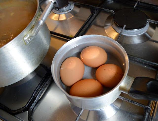 Zupka harira jajka