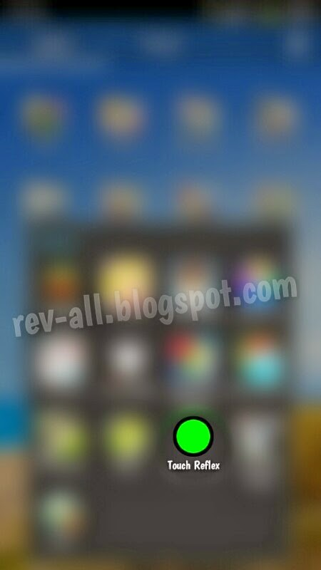 Ikon aplikasi Android Touch Reflex, tes gerak refleks Anda (rev-all.blogspot.com)