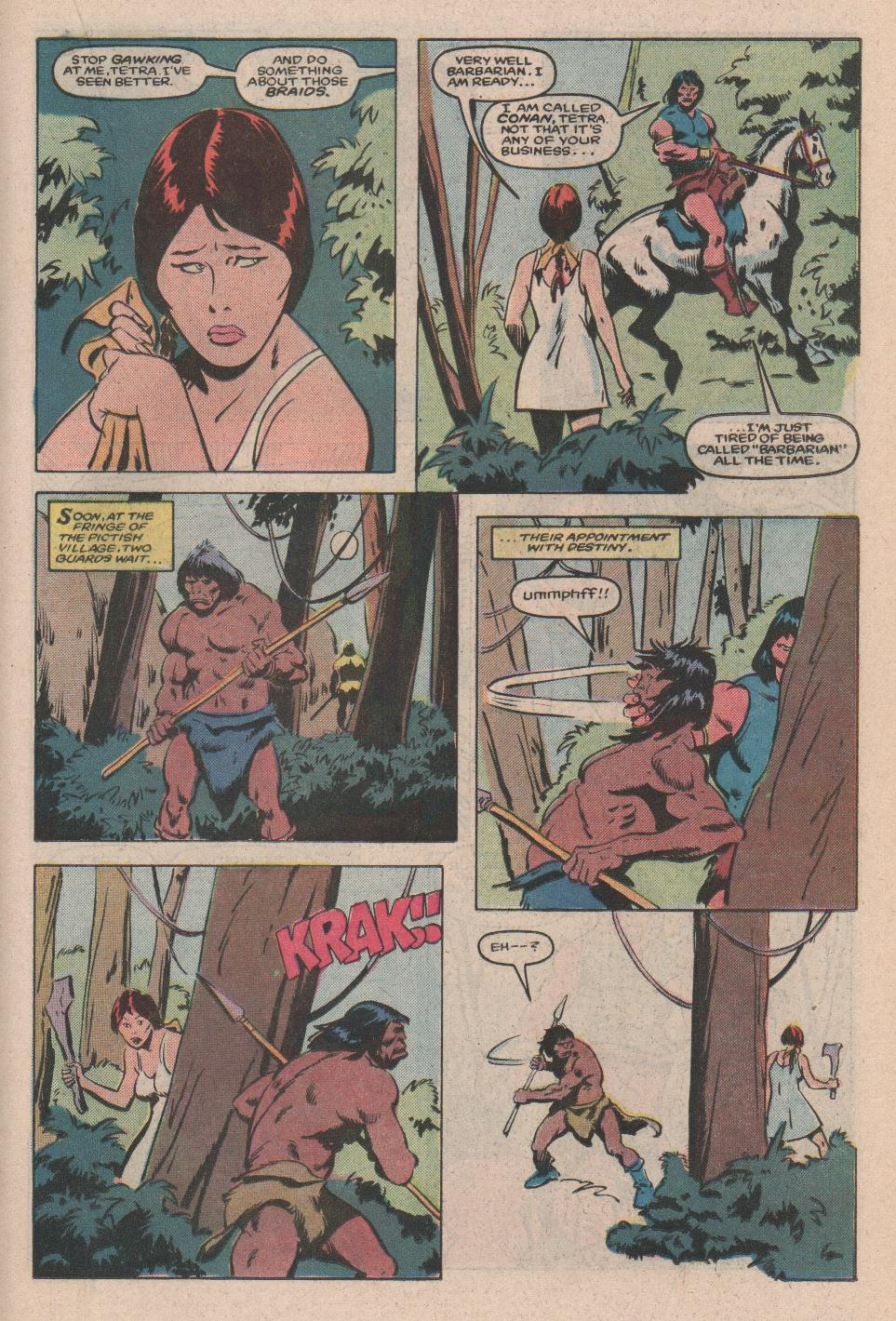 Conan the Barbarian (1970) Issue #172 #184 - English 14