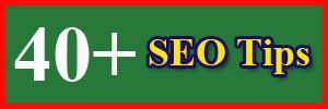 SEO Tips for Blogger, SEO Tips