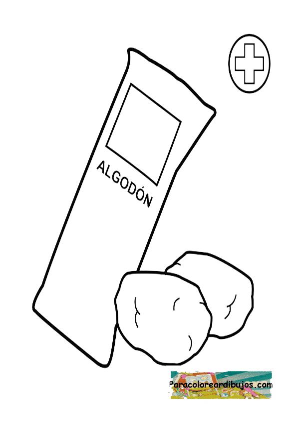 algodon para colorear